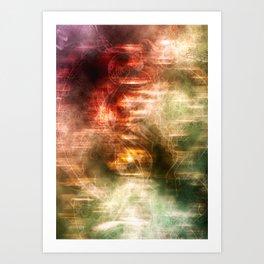 Uzumaki Art Print