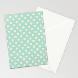 Dotted - Soft Blue Stationery Cards