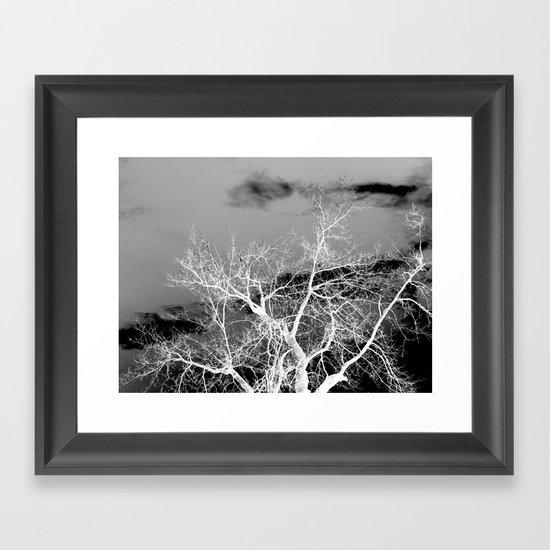 Go Ahead and See Framed Art Print