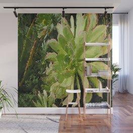 Green Finery Wall Mural
