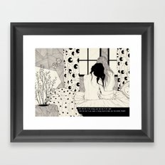 The Tell Tale Heart Framed Art Print