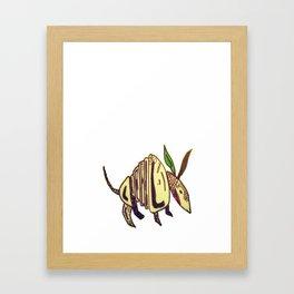Dillo Framed Art Print