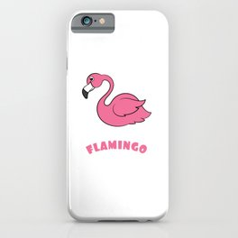 Catch this Cute, Pink & lovely ready to flamingle Flamingo lovers Tee For Ladies Crazy Flamingo Lady iPhone Case