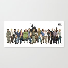 LOST: The Animated Series Canvas Print