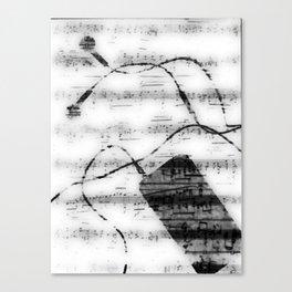 Music, music, music Canvas Print