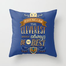 Cleverest Throw Pillow
