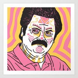 Ron Art Print