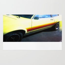 Yellow Car Rug