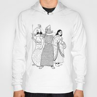 archer Hoodies featuring Archer by Art of Tom Tierney