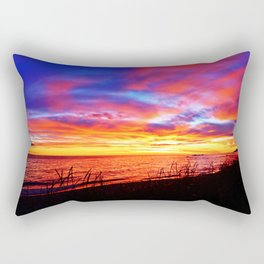 Morning Explosion of Colors Rectangular Pillow