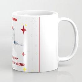 Merry Christmas Season greetings for whale lovers Coffee Mug