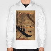 rowing Hoodies featuring Rowing by Robin Curtiss