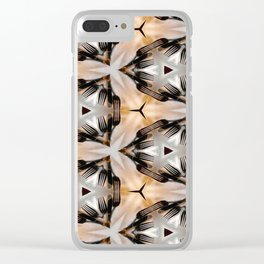 Forking Around Clear iPhone Case