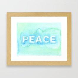 Peace No. 1 Framed Art Print