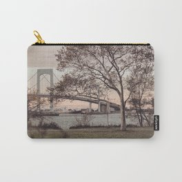 Over a Beautiful Bridge at Sunset Carry-All Pouch