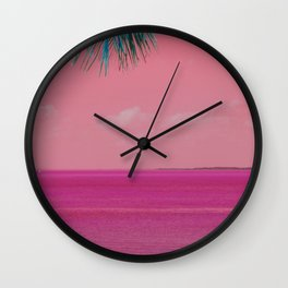 oh pink Wall Clock