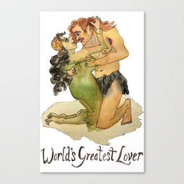 World's Greatest Lover Canvas Print