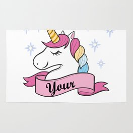 Unicorn Gift Don't Let Anyone Dull Your Sparkle Motivation Anti Bully Rug