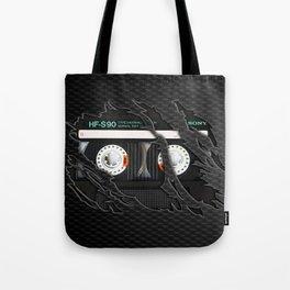 Retro classic vintage Black cassette tape Tote Bag
