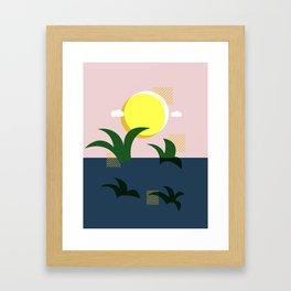 A Beautiful Morning Framed Art Print