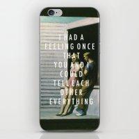 vampire weekend iPhone & iPod Skins featuring Summer Weekend by Modern Vampires of Art History