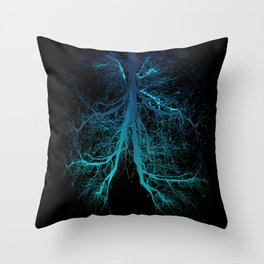 Aqua Lungs Throw Pillow