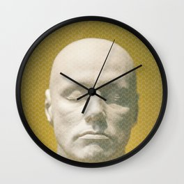Thoughts curved pattern Wall Clock