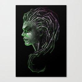 Queen of Blades Canvas Print