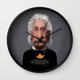 Celebrity Sunday ~ Albert Einstein Genius Fish Wall Clock