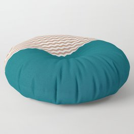 Empty Ocean Floor Pillow