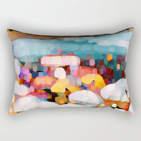 Bathing Pleasure Rectangular Pillow