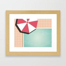 Private Pool #society6 #decor #buyart Framed Art Print