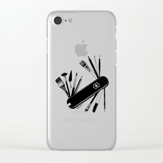Art Almighty Clear iPhone Case