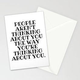People Aren't Thinking, Schitts Creek, Alexis Rose Stationery Cards