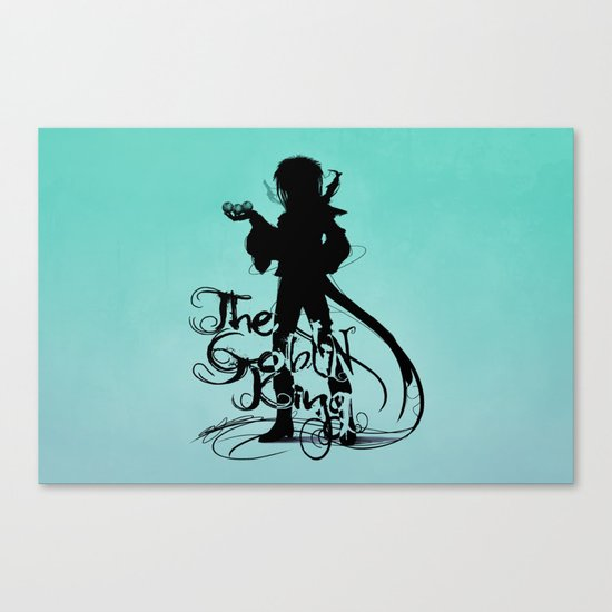The Goblin King Canvas Print