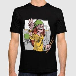 drummer Peace T-shirt