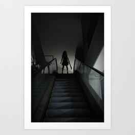 L'Esprit De L'Escalier Art Print