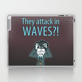 Guardian Ghost- THEY COME IN WAVES Laptop & iPad Skin