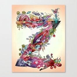 Z Canvas Print