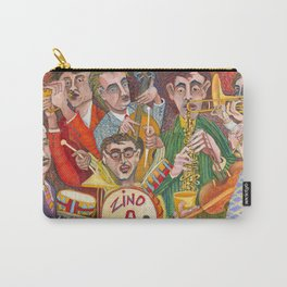 All That Jazz  - New Orleans Jazz Band Carry-All Pouch