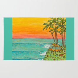 VW Surf Paradise Rug