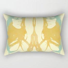 Monica Bellucci x 2 Rectangular Pillow