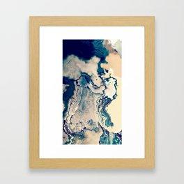 ~ Desert and Island Framed Art Print
