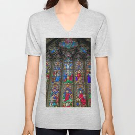 The Light Of Faith Unisex V-Neck