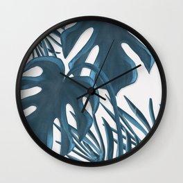Moderna Monstera V.2 Wall Clock