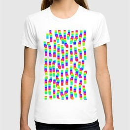 Pixel rainbow T-shirt