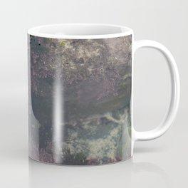 Underwater Rock Pool with Purple Seaweed Coffee Mug