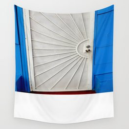 Red White And Blue Wall Tapestry