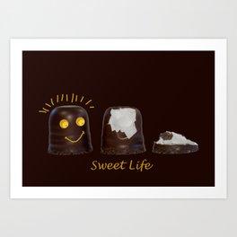 Smiling Sweets Art Print