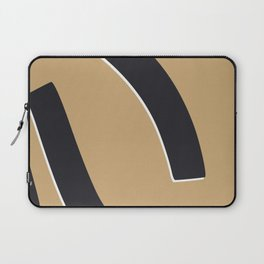 Bold abstract nude Laptop Sleeve